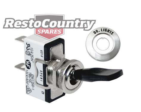 ford driving spot light switch chrome bezel xw xy gt