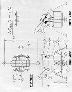 Apollo Lunar Lander Drawings (page 2) - Pics about space