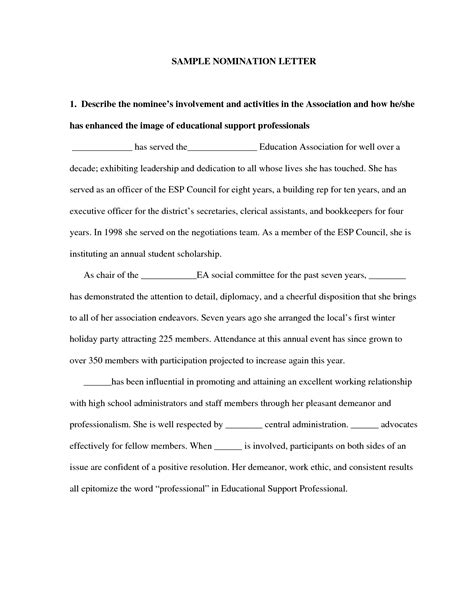 sle nomination letter crna cover letter