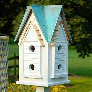 Victorian Mansion Bird House - Yard Envy