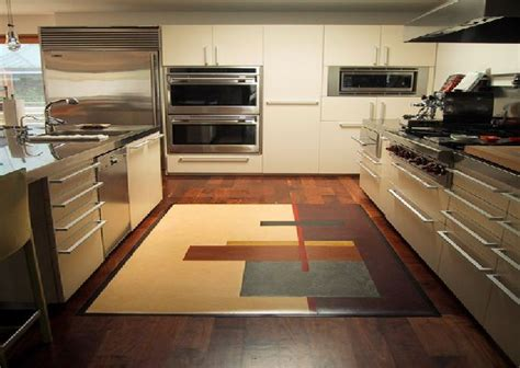 kitchen area rugs stunning yet simple ideas to give your kitchen a modern