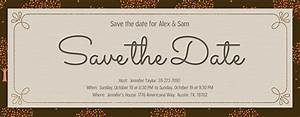 free electronic save the date templates 28 images free With free electronic save the date templates