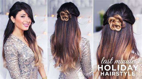 Cute and Easy Hairstyle   YouTube