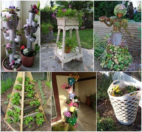 10 space saving tower garden ideas