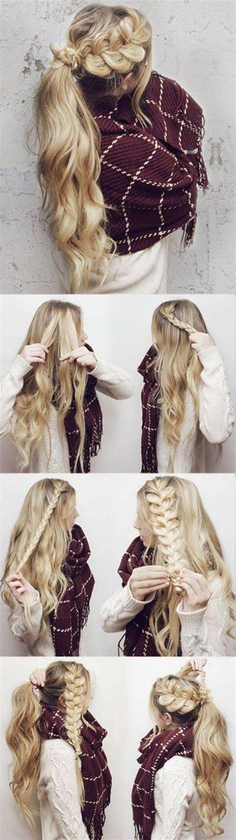 tipos de peinados  pelo largo  te haran ver bellisima