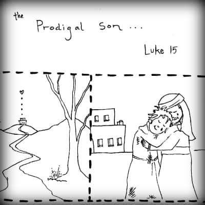 prodigal son luke   preschool lesson ministry  children