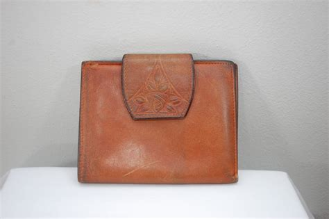 Rolfs Cowhide by Vintage Rolfs Cowhide Leather Wallet Usa