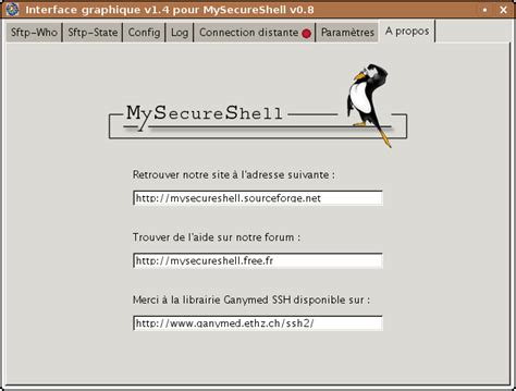 Mysecureshell_sftp-server [wiki Ubuntu-fr]