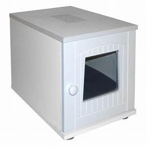 Litiere Chat Fermée : maison de toilette en bois maison de toilette wanimo ~ Melissatoandfro.com Idées de Décoration