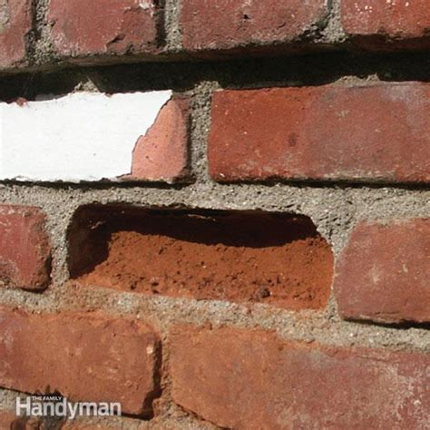 how to repair broken bricks the family handyman