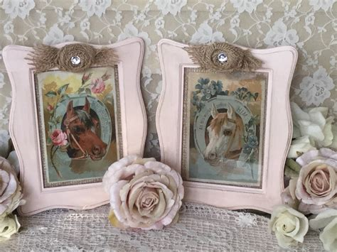 shabby chic pictures prints shabby horse prints nursery horse decor shabby cottage chic