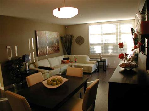 small living room dining room combo designs accent wall