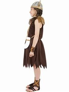 Child Viking Girls Childrens Costume
