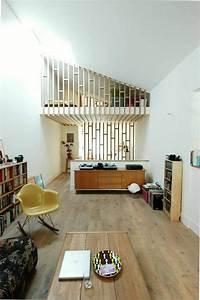 Separation Piece En Bois : s paration pi ce 25 id es pour organiser l 39 espace int rieur ~ Teatrodelosmanantiales.com Idées de Décoration