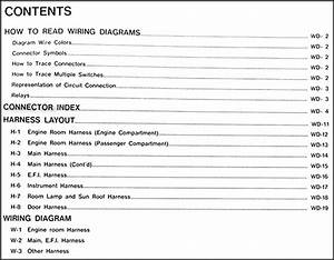 1991 Nissan Maxima Wiring Diagram Manual Original