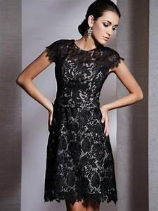 short black lace wedding dress styles of wedding dresses With short black wedding dresses