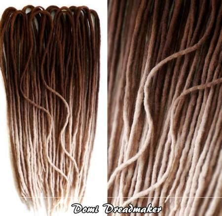 how much does it cost for ombre wool dreadlocks that are