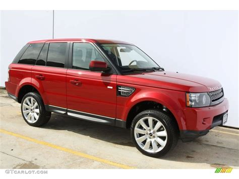 red land rover firenze red metallic 2012 land rover range rover sport