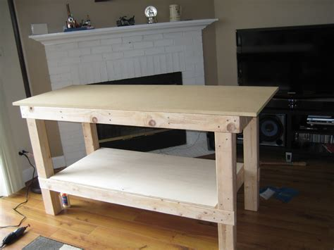 how to make a work table wooden how to build a work bench pdf plans
