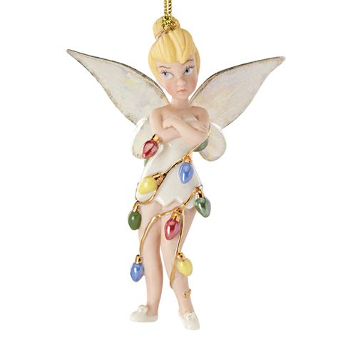 all wrapped up tink lenox christmas ornament disney