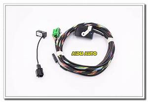 mfsw module airbag harness set for vw jetta 5 golf 6 gti With wiring harness cable microphone bluetooth rcd510 for vw volkswagen