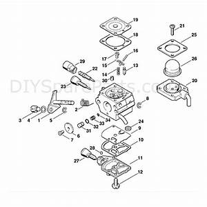 Stihl Km 85 R Engine  Km 85 R  Parts Diagram  Carburetor