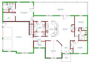 1500 sq ft ranch house plans 1500 sq ft ranch homes plans with side entrance garage house plan single level traditional