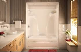 One Piece Acrylic Tub Shower Units by ACTS 3P 3360 Alcove Or Tub Showers Bathtub Aker By MAAX