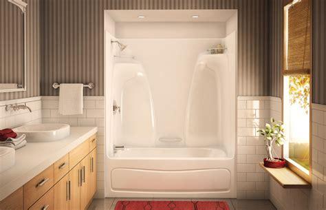 Decorating Ideas Tub Surround by Bathtub Shower Surround Kits Ideas Wood Bathroom