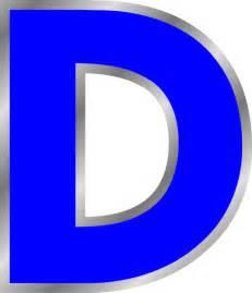 Letter D Clip Art
