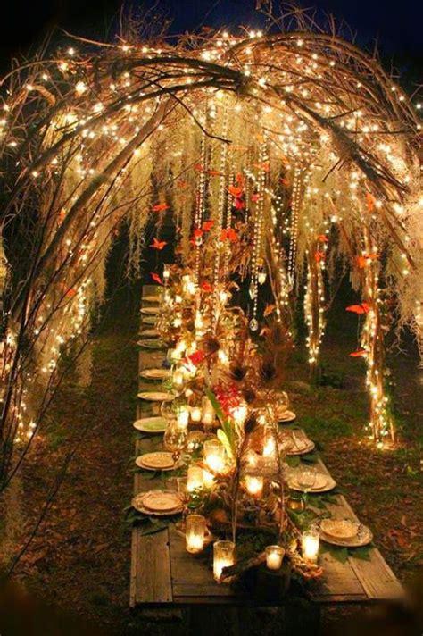 amazing outdoor fall wedding decor ideas deer pearl