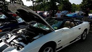 1996 White Chevrolet Camaro Z28 Roll Cage Convertible