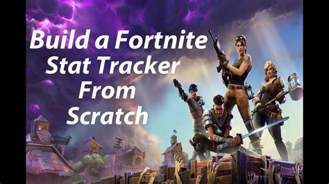 create  fortnite stat tracker