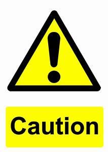 Free signage UK printable hazard warning signs