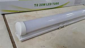 Jual Led Tube Lamp Tl T8 20 Watt Model Lampu Neon Termasuk