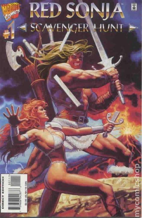 red sonja scavenger hunt  comic books