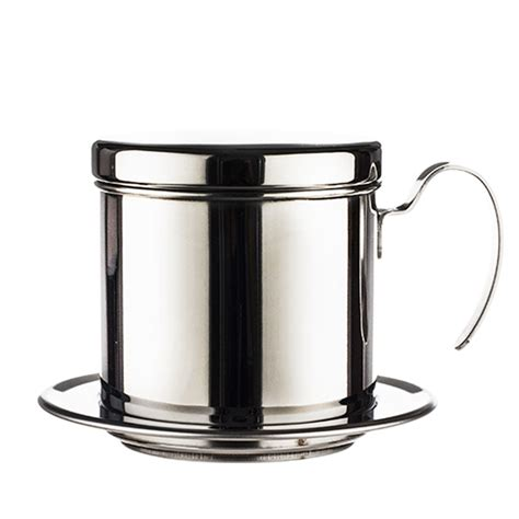 Longer than usual time to brew a cup of joe when you expect a full cup of coffee but the brewed batch only fills half of your cup Coffee Maker Pot, Stainless Steel Vietnamese Coffee Drip Filter Maker Single Cup Coffee Drip ...