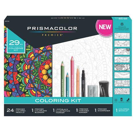 buy prismacolor  piece coloring kit
