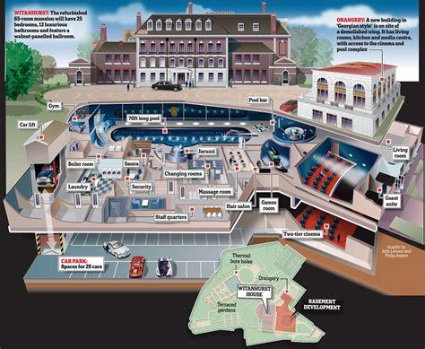 massive underground extension  buckingham palace