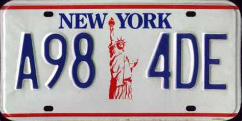 Vanity Plates Ny by New York