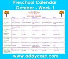 october preschool curriculum lesson plans theme circle time trees pumpkins fall halloween