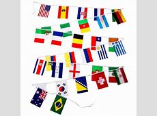 2014 World Cup Pennant Strings World Cup Flag Bunting