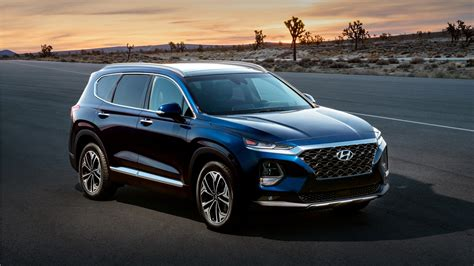 Hyundai Kona 2019 4k Wallpapers by 2019 Hyundai Santa Fe Wallpaper Hd Car Wallpapers Id