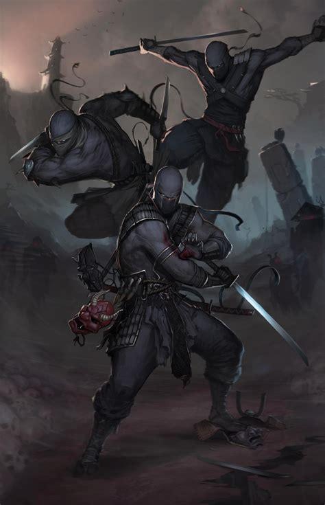 Permalink to Fantasy Art Ninja Wallpaper