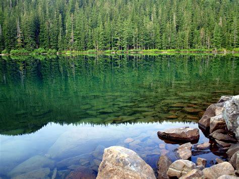serene lake loop backpackingcamping