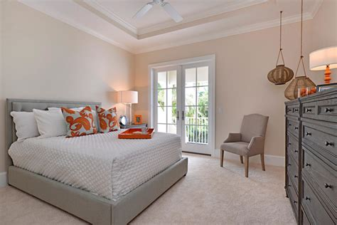 foresite homes in olde naples transitional bedroom