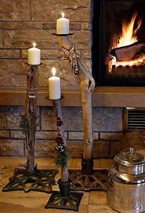 Ideen Für Kerzenständer : christbaumst nder schwemmholz kerzenst nder wohnen und garten foto dekoideen pinterest ~ Orissabook.com Haus und Dekorationen