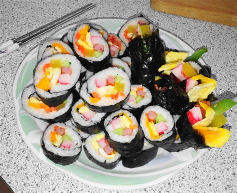 how to make kimbap how to make kimbap with step by step picture guide modern seoul