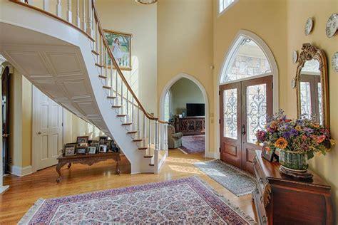 beautiful custom built stone  stucco home tennessee