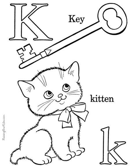 alphabet coloring books alphabet coloring book page letter k alphabet